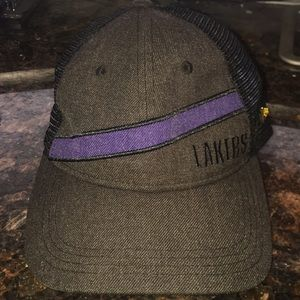 New Era Black Label LA Lakers Trucker Style Hat